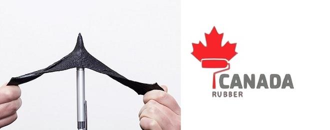 Rzociągliwość gumy w płynie Canada Rubber N500 do 900%