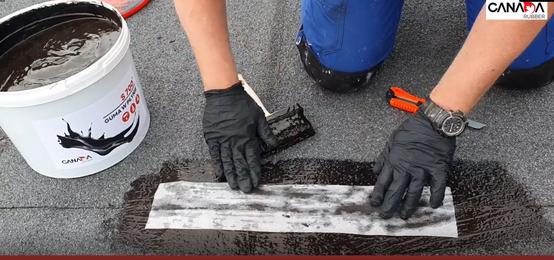 Jak nałożyć hydroizolację gumę w płynie S700