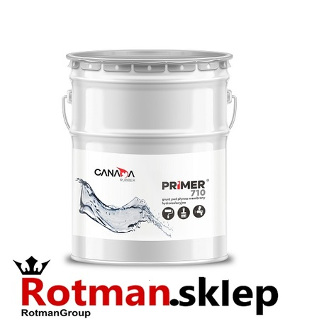 Środek gruntujący pod hydroizolacje poliuretanowe Canada Rubber Primer 710