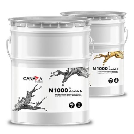 Canada Rubber N1000 hydroizolacja na dachy zielone A+B 20kg+20kg (1)