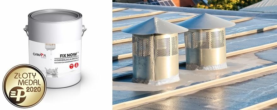 FIxNow uszczelniacz zbrojony do elementów infrastruktury dachowej